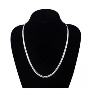 Chaîne argent maille anglaise Frenchy Cambodge